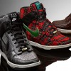 Nike Dunk Sky High Wedge Sneakers in Fashion Week