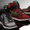 Nike Dunk Sky High Wedge Sneakers in Fashion Week