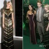 Mila Kunis Dressed In Atelier Versace &amp; Michelle Williams at Premiere of Oz The Great And Powerful