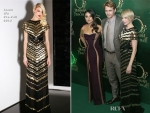 Mila Kunis Dressed In Atelier Versace & Michelle Williams at Premiere of 'Oz The Great And Powerful'