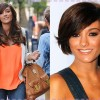 Frankie Sandford getting hair extension for Mane Event