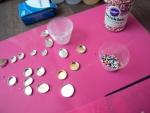 A designer Libby Diament showing tricks of her Trade
