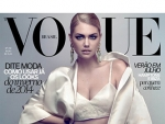 Kate Upton Signs Film Noir For Vogue Cover
