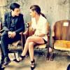 Kristen Stewart & Michael Pitt Hang Out Chez Chanel, Look Exceptional