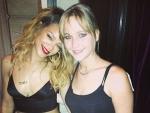 Rihanna & Jennifer Lawrence Enjoy to Meet Each Other