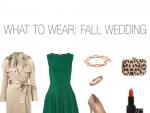 Wearing Fall Wedding Dresses
