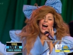 On Good Morning America, Lady Gaga goes to Oz