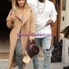 Kim Kardashian & Kanye West Celebrated Engagement in AT&T Stadium