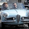 Daniel Day Lewis with Alfa Romeo Giulietta Spider Car Pictures