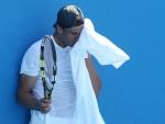 Rafael Nadal heat hot Pictures in Australian Open Tennis