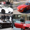Hollywood stars and their cars