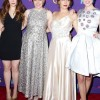 Shiny Frock aplenty featured in the Girls Premiere Red Carpet