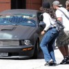 Sean Penn with his Super Car Mustang Pics