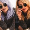 Nicole Richie Dyes Hair Purple