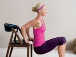 Get fit with a chair: 5 Exercises you can do with a chair
