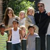 Angelina Jolie: My family made me feel a 'kid again'