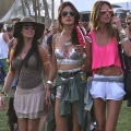 Boho Celebrity Style at Coachella 2014