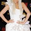 Lady Gaga White Dress Auction