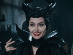 Get Perfect Glossy Red Lips by Angelina Jolie as Maleficent