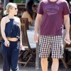 Hayden Panettiere reveals Baby Bump in Navy Blue Crop Top