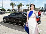 Michelle Dockery Wears Emmy Dress 2014