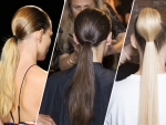 Beauty Trend with Sporty Ponytails at NYFW