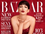 Anne Hathaway Ditches Veganism, Curses That Oscar Dress