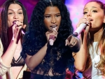 AMAs 2014 Ariana Grande, Jessie J & Nicki Minaj Showed Hottest Performances