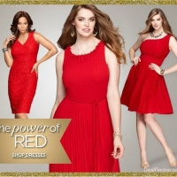 Plus Size Women Christmas Party Dresses Collection for 2014-2015