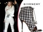 Iggy Azalea Wears Dress Elements in Givenchy Booties