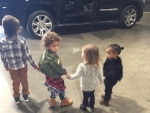 Mason Disick Celebrates His 5th Birthday With North, Penelope Disick and Kim