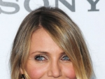 Cameron Diaz's Bright, Bold Lip and Bronzed Glow