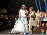 Paris Cultural Fashion Show 2015 model catwalk on ramp