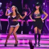 Ariana Grande Performs With Nicki Minaj At NBA All-Star Game