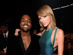 Kanye West & Taylor Swift Pose Together After 6 Years at Grammys 2015