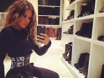 Khole Kardashian obsessed with waist tanning