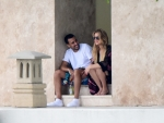 Khloe Kardashian & French Montana at Miami Beach