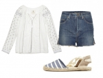 How to Dress Up Your Summer Cutoffs