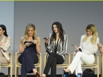 Kendall & Kylie Jenner with Sisters at Apple Store