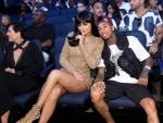 Kylie Sits Front Row at VMAs 2015 along with Tyga