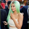 Kylie Displayed Her New Green Hair