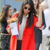 Selena Gomez Receives Flowers From Fans