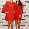 Selena Gomez Red Hot Dress At 'Glamour' Women Of The Year Awards 2015