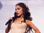 Ariana Grande in Gorgeous Mini Dress at AMAs