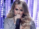 Carrie Underwood Sexy Look on 'X Factor' UK