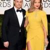 Casper Smart and Jennifer Lopez at Golden Globes 2016