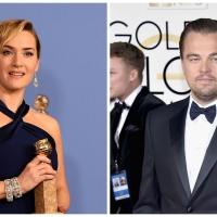 Leonardo DiCaprio & Kate Winslet at Golden Globes 2016