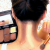 Neck Contouring added in makeup
