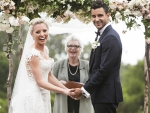 Kaitlin Doubleday Wedding Gown Pics