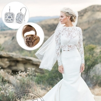 Morgan Stewart two Piece Wedding Dress Was an Accident